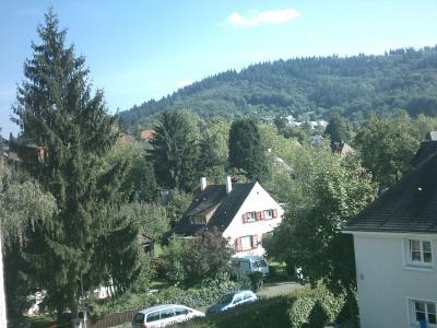 Freiburg, Heim süßes Heim.